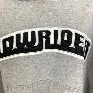 Sweaters - 🔥Rare Vintage Lowrider Magazine Hoodie  M grey